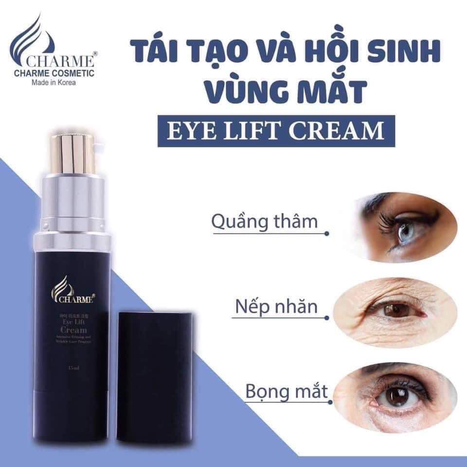 Chống nhăn vùng mắt Eye Lift Cream Charme