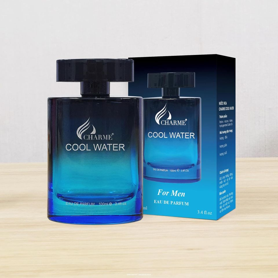 Nước hoa Charme Cool Water 100ml