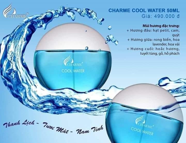 Nước hoa Charme Cool Water 50ml
