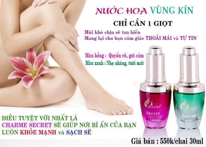 Nước hoa Charme Secret 30ml (nước hoa vùng Kín)