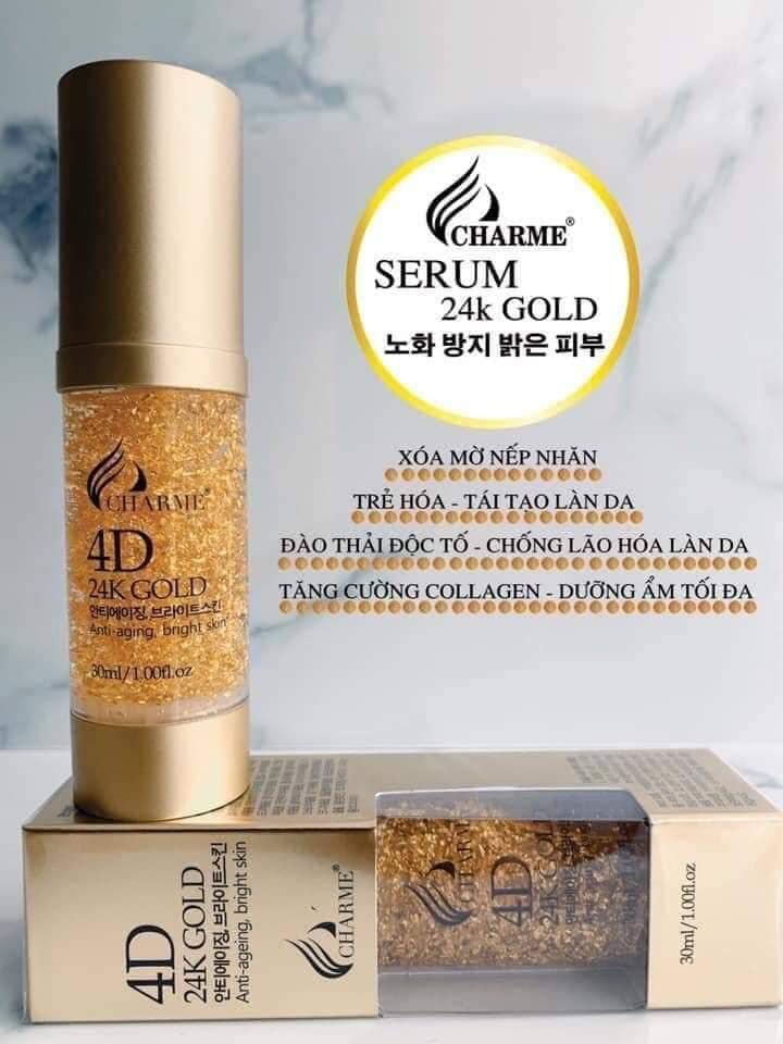 Serum vàng 4D 24K Charme