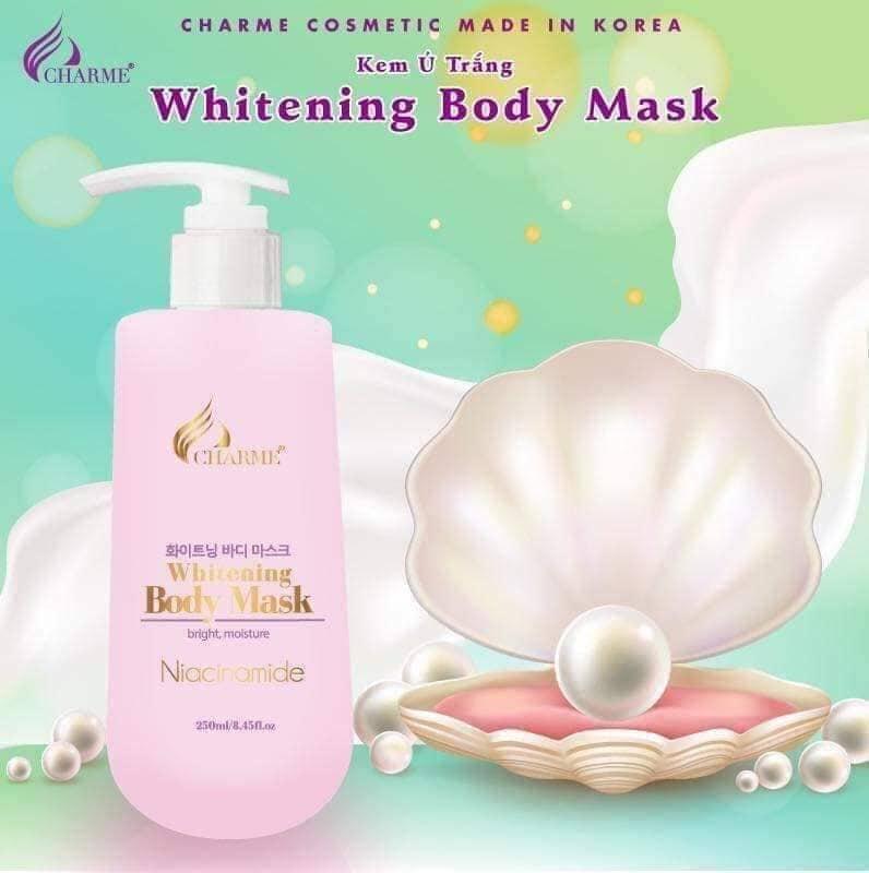 Ủ trắng da Whitening Body Mask Charme