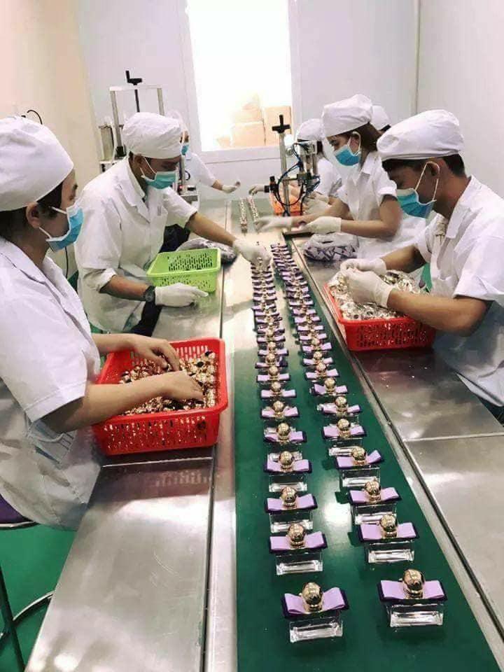 Quy trình sản xuất nước hoa